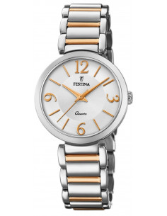 Chic Time | Montre Femme Festina Mademoiselle F20213/2 Or Rose  | Prix : 129,00 €