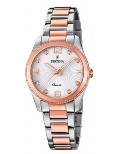 Chic Time | Montre Femme Festina Boyfriend F20209/2 Or Rose  | Prix : 149,00 €