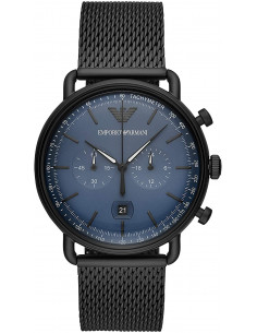 Chic Time | Montre Homme Emporio Armani Aviator AR11201 Chronographe  | Prix : 219,99€