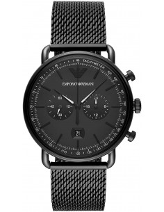 Chic Time | Montre Homme Emporio Armani Aviator AR11264 Chronographe  | Prix : 327,20€