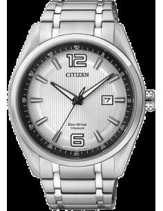 Chic Time   Montre Homme Citizen Eco-Drive AW1240-57B Titane    Prix : 299,25€