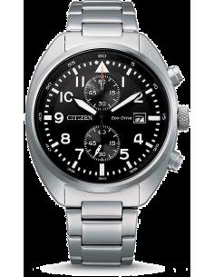 Chic Time | Montre Homme Citizen Eco-Drive CA7040-85E Chronographe  | Prix : 299,25€