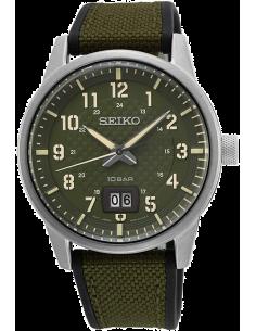 Chic Time | Montre Homme Seiko SUR323P1 Militaire  | Prix : 201,75€