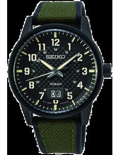Chic Time | Montre Homme Seiko SUR325P1 Militaire  | Prix : 224,25€