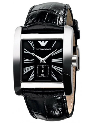 Chic Time | Montre Homme Emporio Armani AR0180 Noir  | Prix : 246,75€