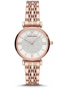 Chic Time | Montre Femme Emporio Armani Gianni T-Bar AR11244  | Prix : 293,30 €