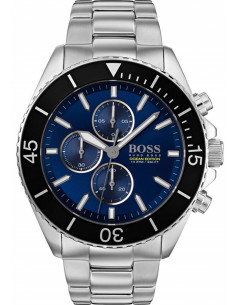 Chic Time | Montre Hugo Boss Ocean 1513704 Bracelet acier  | Prix : 259,99€