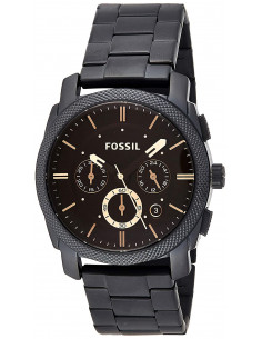 Chic Time | Montre Homme Fossil Machine FS4682 XL Dress Noir  | Prix : 159,20 €