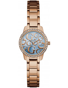 Chic Time | Montre Femme Guess W0891L3 Or Rose  | Prix : 209,00 €