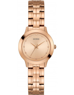Chic Time | Montre Femme Guess W0989L6 Or Rose  | Prix : 189,00 €