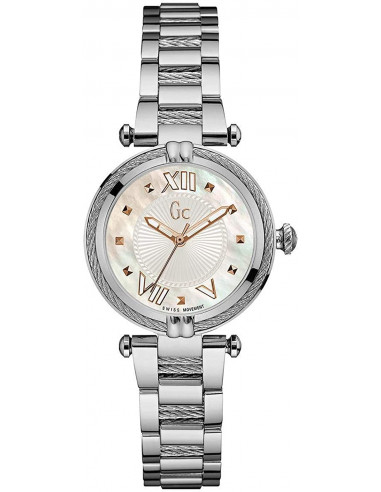 Chic Time | Montre Femme Guess Collection Cablechic Y18001L1  | Prix : 375,00€
