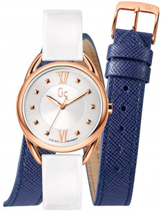 Chic Time | Montre Femme Guess Collection Y13002L1 Blanc  | Prix : 399,00 €