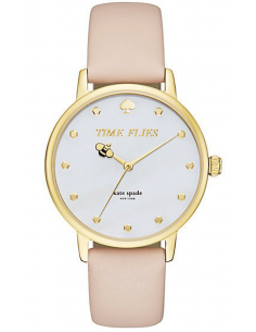 Chic Time | Montre Femme Kate Spade Metro KSW1084 Beige  | Prix : 159,20€