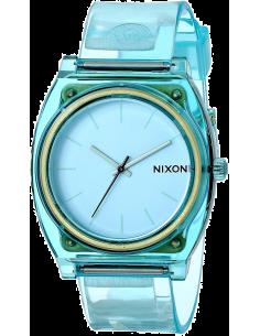 Chic Time | Montre Mixte Nixon The Time Teller P A119-1785 Bracelet et cadran bleus  | Prix : 45,43€