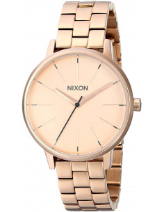 Chic Time | Montre Femme Nixon The kensington A099-897 bracelet or rose en acier inoxydable  | Prix : 239,92 €