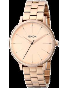 Chic Time | Montre Femme Nixon The kensington A099-897 bracelet or rose en acier inoxydable  | Prix : 239,92€