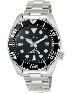 Chic Time | Montre Homme Seiko Diver's Submariner SBDC031J Argent  | Prix : 1,039.20