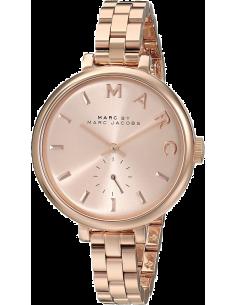 Chic Time | Montre Femme Marc by Marc Jacobs Sally MBM3364 Bracelet fin en acier doré rose  | Prix : 183,20€