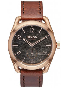 Chic Time | Montre Homme Nixon C39 Leather A459-1890 Marron  | Prix : 319,90 €