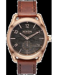 Chic Time | Montre Homme Nixon C39 Leather A459-1890 Marron  | Prix : 319,90€