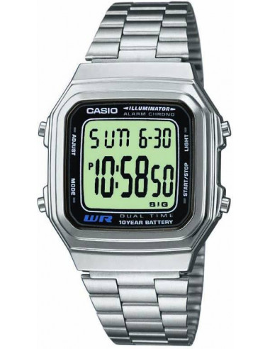 Chic Time   Casio A178WEA-1AES Unisex watch    Buy at best price
