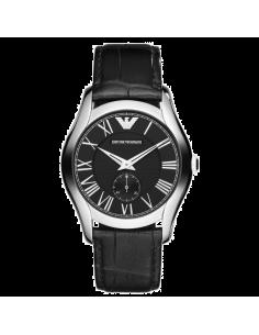 Chic Time | Montre Emporio Armani Classic AR1708 Bracelet cuir noir  | Prix : 159,20€