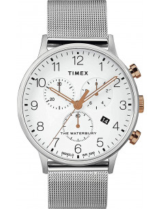 Chic Time | Montre Homme Timex Waterbury TW2T36700 Chronographe  | Prix : 142,43 €