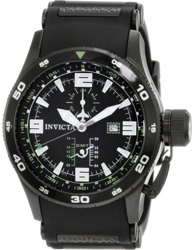 Chic Time | Montre Homme Invicta 1759 Aviator Flight GMT  | Prix : 178,40€