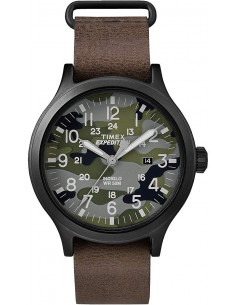Chic Time | Montre Homme Timex Expedition TW4B066009J Marron  | Prix : 89,91 €