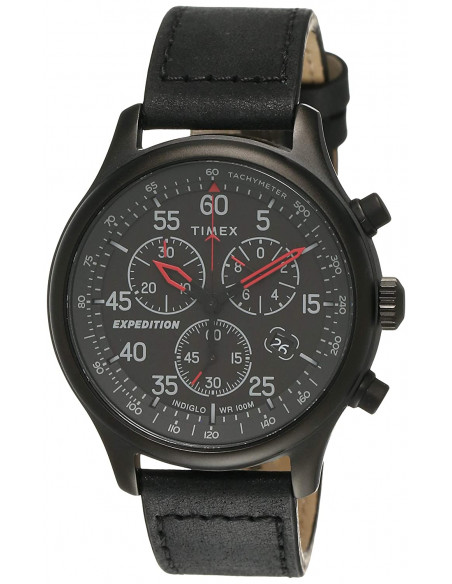 Chic Time   Montre Homme Timex Expedition TW2T73000 Chronographe    Prix : 97,43€