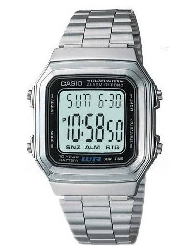 Chic Time   Casio A179WA-1AUDG Unisex watch    Buy at best price