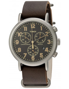 Chic Time | Montre Homme Timex Weekender TW2P854009J Marron  | Prix : 118,93 €