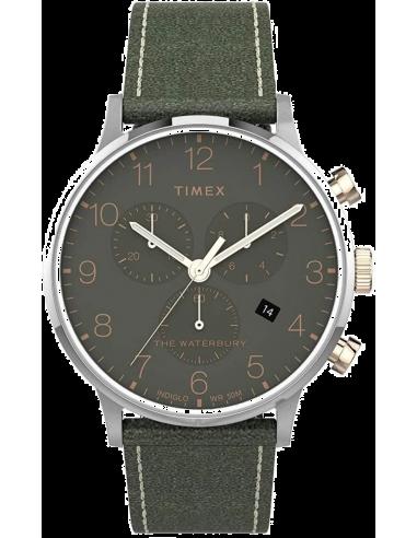 Chic Time | Montre Homme Timex Waterbury TW2T71400 Chronographe  | Prix : 118,93€
