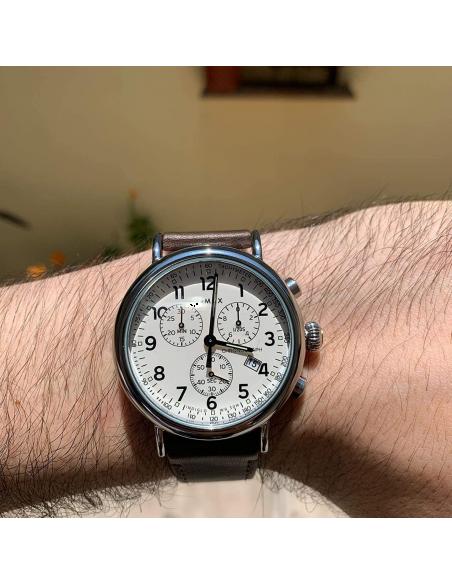 Chic Time   Montre Homme Timex Classique TW2T21000 Chronographe    Prix : 104,93€