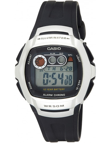 Chic Time | Montre Homme Casio W-210-1AVEF Noir  | Prix : 31,20€