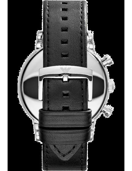 Chic Time | Montre Homme Emporio Armani AR1807 Chronomètre Cuir Noir  | Prix : 183,20€