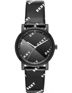 Chic Time | Montre Femme DKNY Soho NY2805 Cuir Noir  | Prix : 119,00€