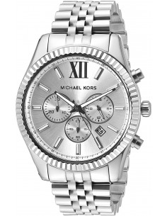 Chic Time | Montre Homme Michael Kors Lexington MK8405 Argent  | Prix : 223,20 €