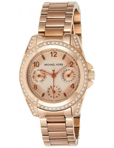 Chic Time | Montre Femme Michael Kors Blair MK5613 Or Rose  | Prix : 167,40 €