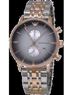 Chic Time | Montre Homme Armani Retro AR1721 Argent  | Prix : 359,20€