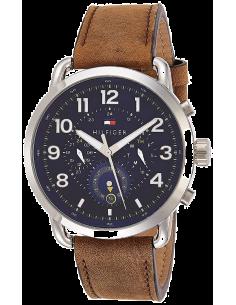Chic Time | Montre Homme Tommy Hilfiger Briggs 1791424 Cuir marron bracelet  | Prix : 189,00€