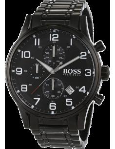 Chic Time | Montre Homme Hugo Boss 1513180 Chronographe acier noir  | Prix : 390,15€
