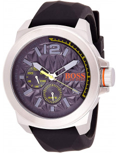 Chic Time | Montre Homme Hugo Boss Boss Orange 1513347 Noir  | Prix : 199,90 €