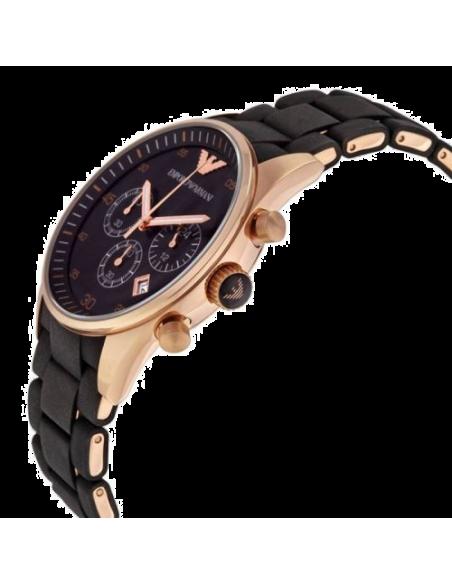 Chic Time | Montre Homme Emporio Armani Sportivo AR5905 Chronomètre Sport Noir  | Prix : 239,40€