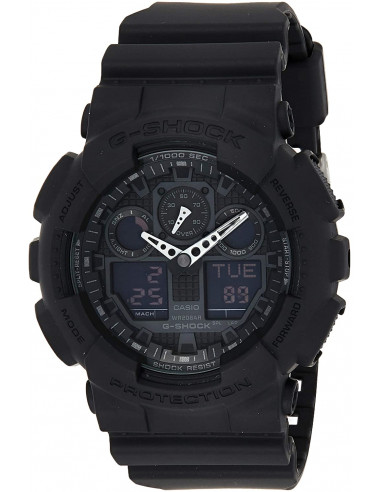 Chic Time | Montre Homme Casio G-Shock GA-100-1A1ER Noir  | Prix : 139,00€