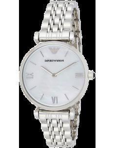 Chic Time | Montre Femme Emporio Armani Gianni T-Bar AR1682 Bracelet en acier  | Prix : 149,00€