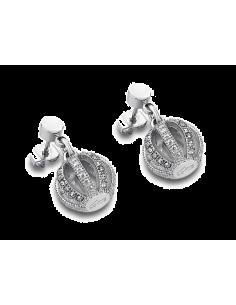 Chic Time   Boucles d'oreilles Lotus LS1749-4/1 acier    Prix : 29,00€