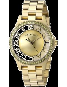 Chic Time | Montre Femme Marc by Marc Jacobs Henry MBM3338 Bracelet Doré en acier inoxydable  | Prix : 299,00€