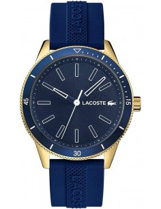 Chic Time | Montre Homme Lacoste 2011008 Bracelet Silicone Bleu  | Prix : 209,25€