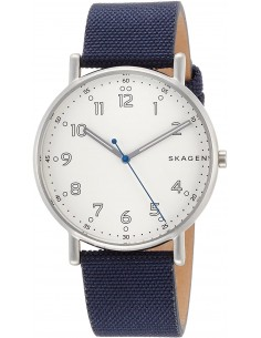 Chic Time | Montre Homme Skagen Signatur SKW6356 Bleu  | Prix : 111,20€